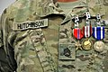 Staff Sgt. Terry Hutchinson awarded the Bronze Star Medal (9369638807).jpg