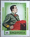 Stamp of Albania - 1969 - Colnect 347685 - Enver Hoxha at the Lectern.jpeg