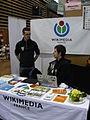 Stand Wikimédia France - Lyon Primevère 2015 (6).JPG
