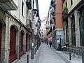 Staple bike racks on narrow street (18188171723).jpg