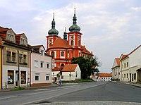 Stará Boleslav, Nanebevzetí Panny Marie Church.jpg