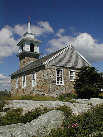 Star Island (New Hampshire) - Gosport Chapel, built 1800