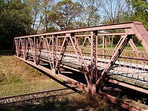 Starke County Bridge No. 39 - Image: Starke County Bridge no 39 PA090095 Span