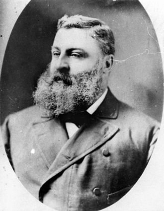 George Harris (Queensland politician) - George Harris, circa 1870