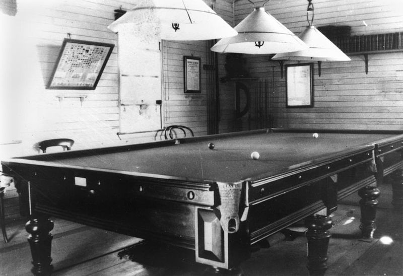 File:StateLibQld 1 192395 Billiard room at Garowie, Ipswich, 1919.jpg