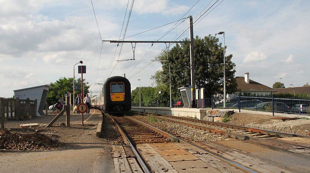 Station Milmort in augustus 2010.
