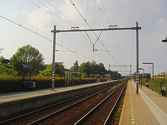 Voorhout railway station - Image: Station Voorhout