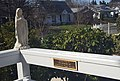 Statue and inscription at Sacred Heart Catholic Church in Portland Oregon 02.jpg