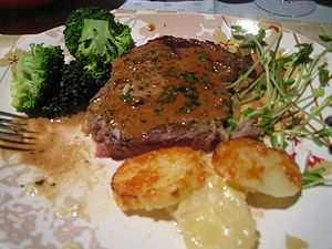 Steak Diane - Image: Steak Diane