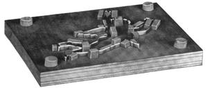 Die (manufacturing) - Image: Steel rule die