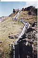 Steps up to Tintagel Head - geograph.org.uk - 508010.jpg