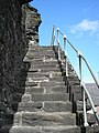 Steps up to the town walls - geograph.org.uk - 765747.jpg