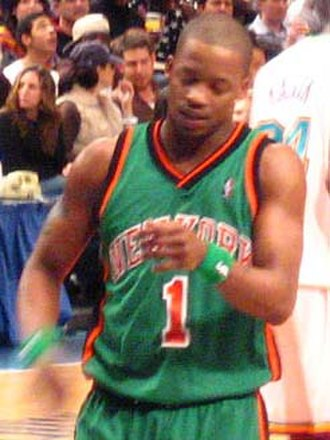 Steve Francis - Francis with the Knicks