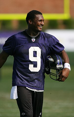 Steve McNair - McNair with the Baltimore Ravens in 2007