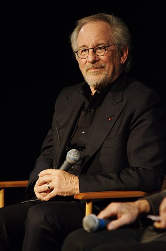 Steven Spielberg, who gave Adams her first major role in Catch Me If You Can (2002), was surprised that she did not break through after the film's release. Steven Spielberg Masterclass Cinematheque Francaise.JPG