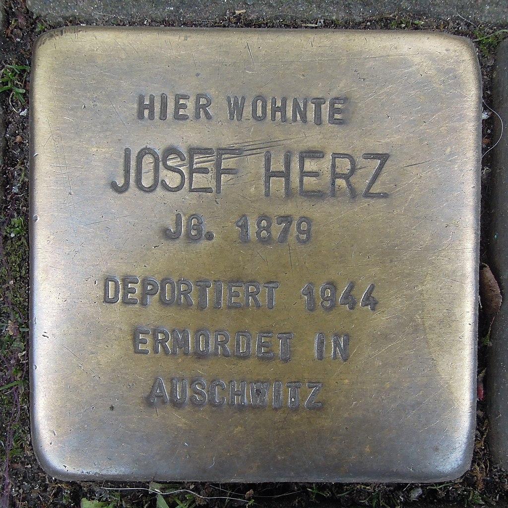 Stolperstein für Josef Herz