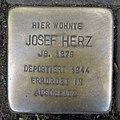 Stolperstein Düren Weierstraße 9 Josef Herz.JPG