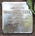 Stolperstein Helmstedter Str 10 (Wilmd) Margarete Brühl2.jpg