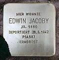 Stolperstein Hohenstaufenstr 50 (Schön) Edwin Jacoby.jpg