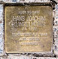 Stolperstein Hohenzollerndamm 201 (Wilmd) Hans-Joachim Klingelhöfer.jpg