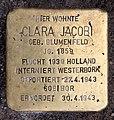 Stolperstein Kantstr 59 (Charl) Clara Jacobi.jpg