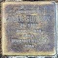 Stolperstein Savignyplatz 6 (Charl) Julius Slutzkin.jpg