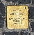 Stolperstein Unter den Linden 6 (Mitte) Walter Brock.jpg