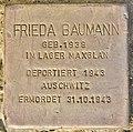 Stolperstein für Frieda Baumann (Salzburg).jpg