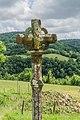 Stone Cross in settlement Sainte-Austremoine 01.jpg