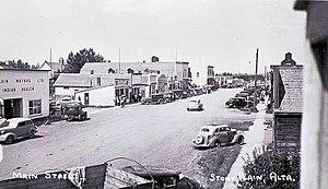 Stony Plain, Alberta - Image: Stony Plain, Alberta (circa 1925)