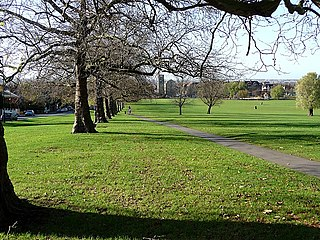 Streatham Common park in Streatham, south London