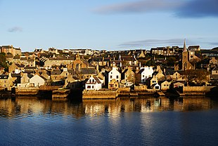 A view of Stromness