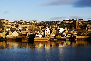 Stromness second largest town in Orkney, Scotland