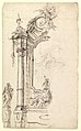 Study for an Altar with a Figure on a Raised Socle at Left; verso- Study for an Altar with a Figure of an Angel or Saint MET DP819627.jpg