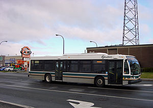 English: Sudbury Transit bus