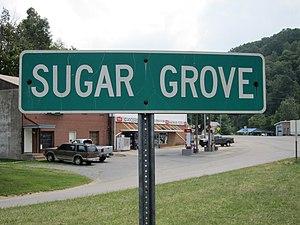Sugar Grove, North Carolina - Image: Sugar Grove Sign