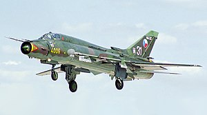 Sukhoi Su-17 - A Su-22M of the Czech Republic
