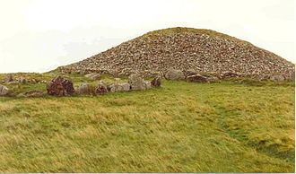 Cailleach - The burial chamber at the summit of Sliabh na Caillí