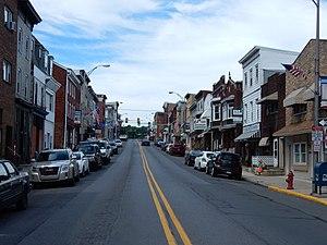 Minersville, Pennsylvania - Image: Sunbury St, Minersville PA 02