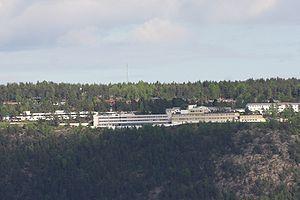 Sunnaas Hospital - Sunnaas Hospital is on a hillside, with a good view over Oslofjorden.