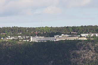 Sunnaas Hospital - Sunnaas Hospital is on a hillside, with a good view over Oslofjorden.