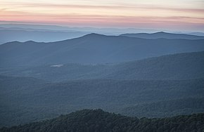 Sunset View from Skyline Drive in Shenandoah National Park.jpg