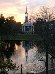 Sunset behind the chapel at Wheaton College.jpg