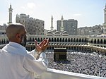 Peregrino em Meca