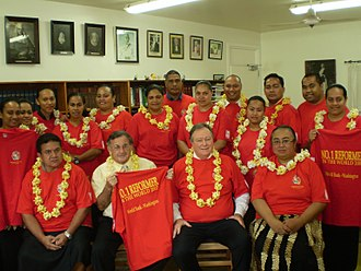 Politics of Tonga - Supreme Court of Tonga, 2007
