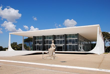 Supreme Federal Court of Brazil serves primarily as the Constitutional Court of the country Supremo Brasil.jpg