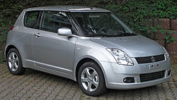 Suzuki Swift Dreitürer (2005–2008)