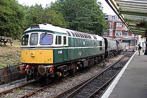 Birmingham Railway Carriage and Wagon Company - British Rail Class 33 at Swanage
