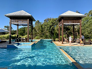 Swimming pool at Noosa North Shore Resort, Queensland.jpg