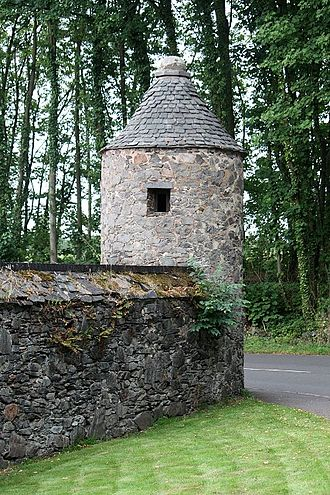 Swithland - Boundary tower from the original Swithland Hall site